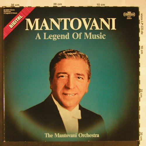 Mantovani: A Legend of Music, Foc, Club Ed., Intercord(91 420 0), D, 1981 - 2LP - H2004 - 6,00 Euro
