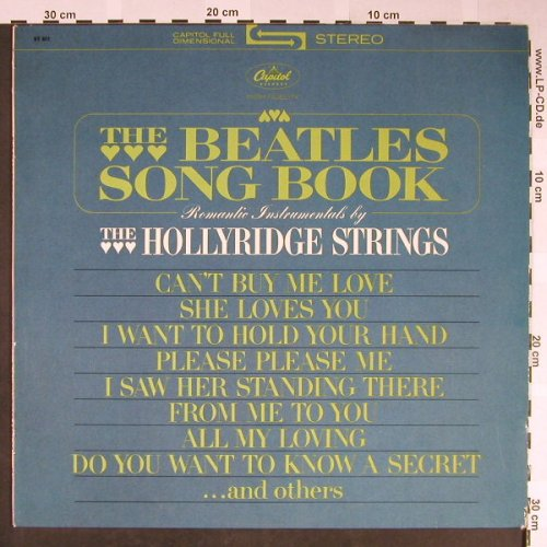 Hollyridge Strings: The Beatles Songbook, Capitol(83 801), D,  - LP - H2027 - 10,00 Euro