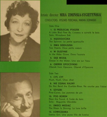 Polish Song & Dance Ensemble: Vol.1 - Mazowsze, Muza(SX 0141), PL,  - LP - H2222 - 5,00 Euro