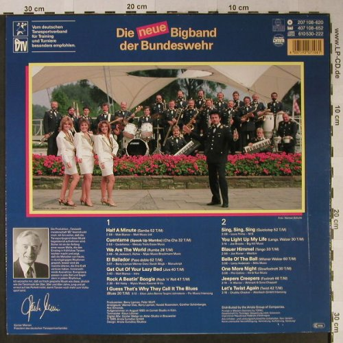Major Schiffers&Majories: Tanz Weltmeisterschaft,BW-Showband, Ariola(207 108-620), D, 1985 - LP - H2440 - 5,50 Euro