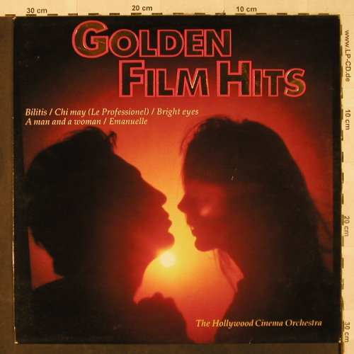 Hollywood Cinema Orchestra: Golden Film Hits, MCR(1706), NL, 1982 - LP - H2892 - 4,00 Euro