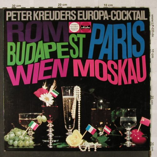 Kreuder,Peter: Europa-Cocktail, vg+/m-, Ariola(74 249 IT), D,  - LP - H2901 - 4,00 Euro