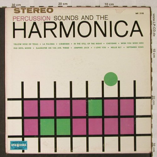 Percussion Sounds and the Harmonica: Harmonica and Ping Pong Percussion, Spinorama(MK 3105S-65), US,vg+/vg+,  - LP - H2924 - 4,00 Euro