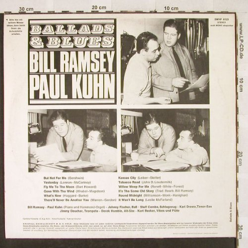 Kuhn,Paul & Bill Ramsey: Ballads & Blues, Volksplatte(SMVP 6123), D,  - LP - H3164 - 15,00 Euro