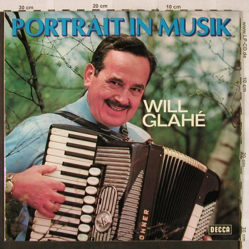 Glahe,Will: Portrait in Musik, Foc, Decca(DS 3131/1-2), D, 1973 - 2LP - H3181 - 6,00 Euro
