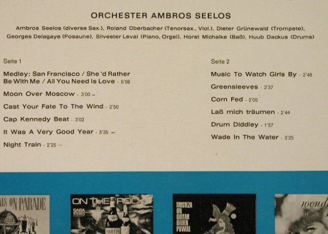 Seelos,Ambros - Orchester: Beat and Sweet, VG-/vg+, bad cond., Saba(SB 15 144), D,  - LP - H3651 - 4,00 Euro