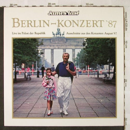 Last,James: Berlin-Konzert'87, Polydor(833 683-1), D, 1987 - LP - H3854 - 5,00 Euro