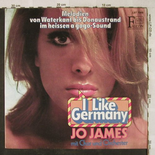 James,Jo mit Chor und Orch.: I Like Germany, Falcon(L-ST 7095), D,  - LP - H3875 - 6,00 Euro