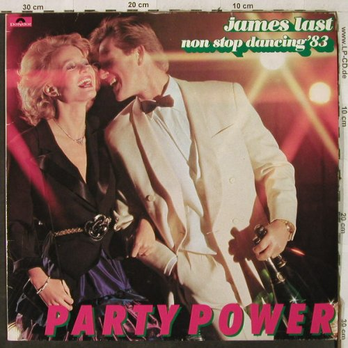 Last,James: Non Stop Dancing'83-Party Power, Polydor(810 783-1), D, 1983 - LP - H3901 - 5,00 Euro