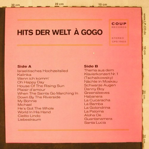 V.A.Non-Stop Dancing w.Sailor Songs: Hits der Welt - (Wolfgang Petersen), Coup(CPS 15603), D, vg+/m-,  - LP - H3922 - 4,00 Euro