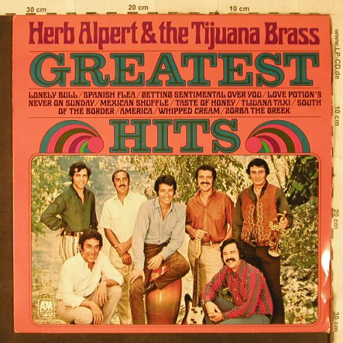 Alpert,Herb & Tijuana Brass: Greatest Hits, AM(NP 125), NL, 1970 - LP - H3975 - 7,50 Euro