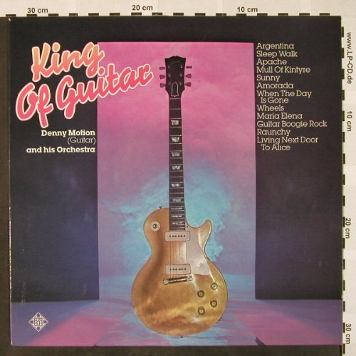 Motion,Denny  & his Orch.: King of Guitar, Telefunken(6.23635 AF), D, 1976 - LP - H4110 - 6,00 Euro