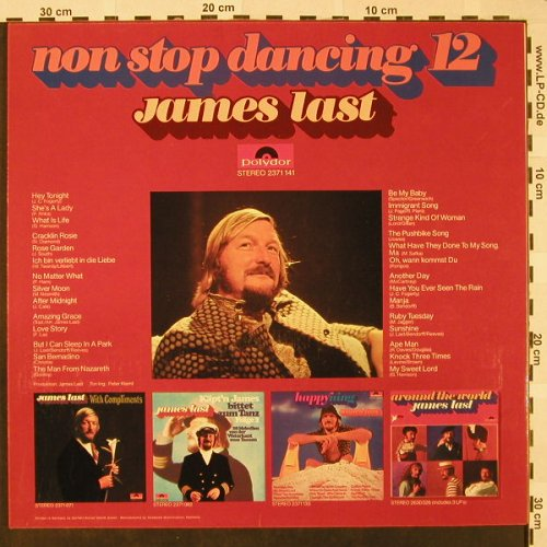 Last,James: Non Stop Dancing 12, Polydor(2371 141), UK, 1971 - LP - H4612 - 5,00 Euro