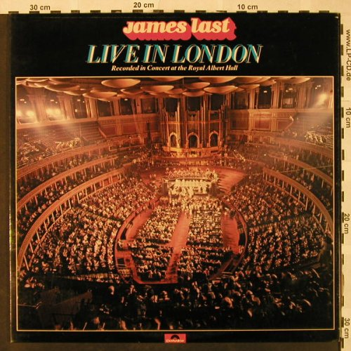 Last,James: Live In London, Foc, Polydor(2672 046), UK, 1978 - 2LP - H4810 - 7,50 Euro