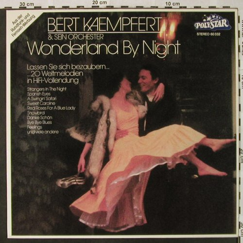 Kaempfert,Bert: Wonderland By Night, Polystar(60 332), D, Ri,  - LP - H4877 - 6,00 Euro