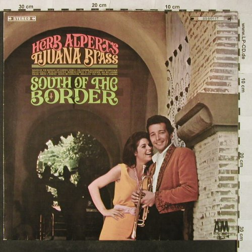 Alpert,Herb & Tijuana Brass: South Of The Border, AM(85 601 IT), D,  - LP - H5240 - 6,00 Euro