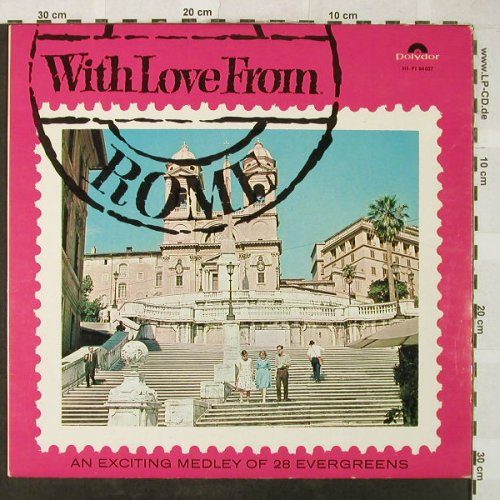 V.A.With Love from Rome: K.Edelhagen...Max Greger-Medley, Polydor(84 037), D, 1965 - LP - H5277 - 5,00 Euro