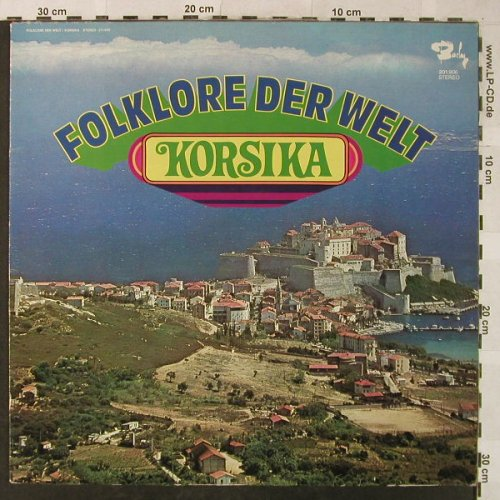Zanni,Maguy & sein Orchester: Folklore der Welt - Korsika, woc, Barclay(201.906), D, m-/vg+, 1974 - LP - H5310 - 7,50 Euro