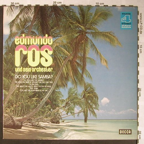 Ros,Edmundo und sein Orchester: Do You Like Samba, Decca,Warenprobe(6.22101 AS), D, 1974 - LP - H5354 - 7,50 Euro