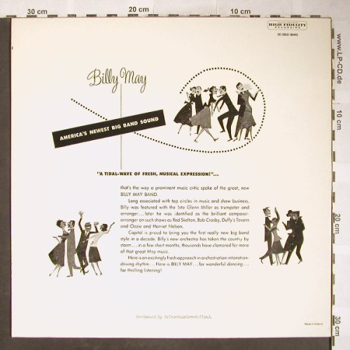 May,Billy: Big Band Bash!, Capitol(5D 050D-85443), NL, Ri,  - LP - H6054 - 6,00 Euro