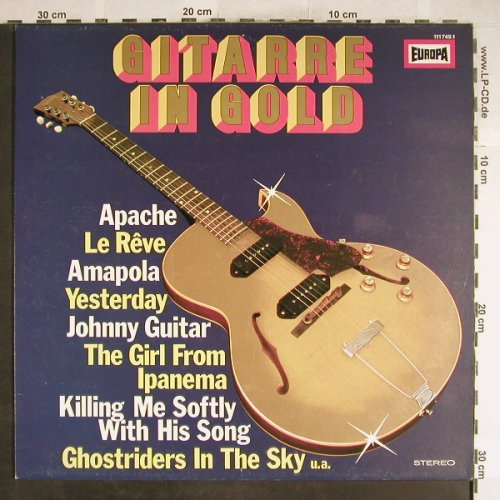 Griffin,Marc  and T.Romantic Guitar: Gitarre in Gold, Europa(111 749.1), D, 1980 - LP - H6634 - 5,50 Euro
