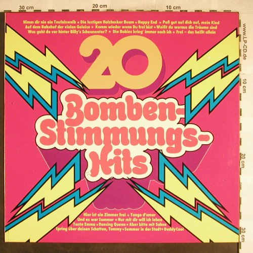 V.A.20 Bomben-Stimmungs-Hits: u.a.Daddy Cool, Dancing Queen..., Clear Sound(529), D,  - LP - H6640 - 4,00 Euro