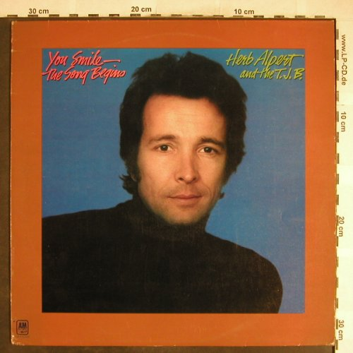 Alpert,Herb & Tijuana Brass: You Smile-The Song Begins, AM(AMLS 63620), UK, 1974 - LP - H6685 - 6,00 Euro