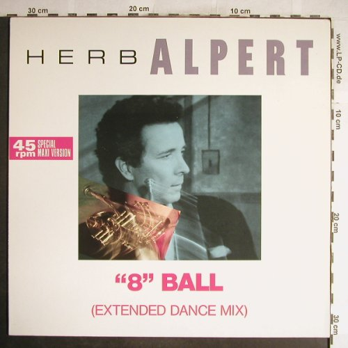 Alpert,Herb: 8 Ball / Lady Love / Rise, AM(392 028-1), NL, 1985 - 12inch - H6687 - 3,00 Euro