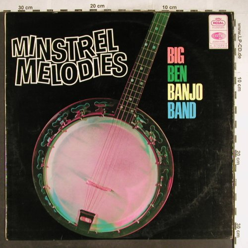 Big Ben Banjo Band: Minstrel Melodies, Regal(SREG 1043), UK, 1960 - LP - H6811 - 12,50 Euro