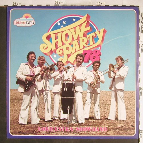Lord Extra Showband: Show Party 78, Flamingo Rec/Lord Extra(180024.8), D, 1978 - LP - H6920 - 5,00 Euro