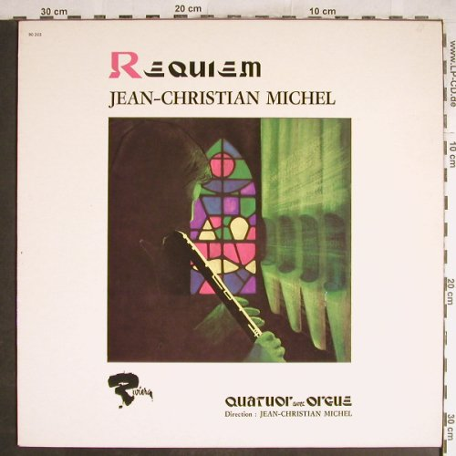 Michel,Jean-Christian: Requiem, Quatuor avec Orgue, Barclay(90203), F, Ri, 1978 - LP - H6924 - 5,50 Euro