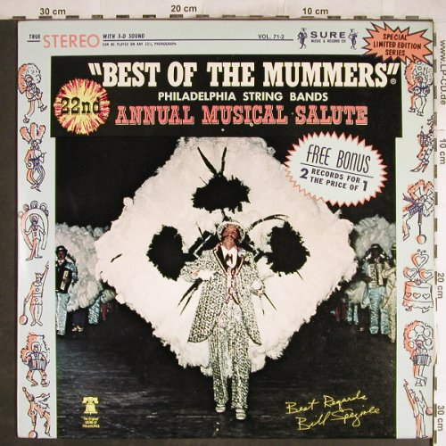 V.A.Best Of The Mummers: Ferko String Band...Tilby String Ba, Sure(Vol.71-2), US, 1982 - 2LP - H6995 - 6,00 Euro