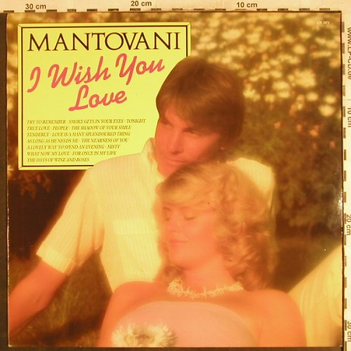 Mantovani: I Wish You Love, Pickwick(CN 2071), UK, Ri,  - LP - H7299 - 5,50 Euro