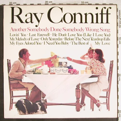 Conniff,Ray: Another Someboby Done Somebody..., CBS(CBS 80879), NL, 1975 - LP - H7319 - 7,50 Euro