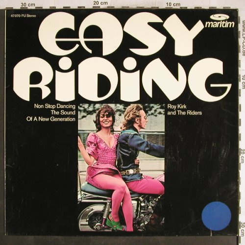 Kirk,Roy  and the Riders: Easy Riding, Maritim(47070 FU), D,  - LP - H7419 - 7,50 Euro