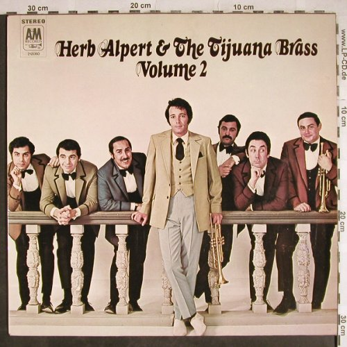 Alpert,Herb & Tijuana Brass: Volume 2, AM(212 050), D, 1968 - LP - H8042 - 9,00 Euro
