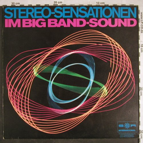 V.A.Stereo-Sensationen: im Big Band-Sound,E.Ros,Keating, S*R(76 089), D,  - LP - H8043 - 6,00 Euro