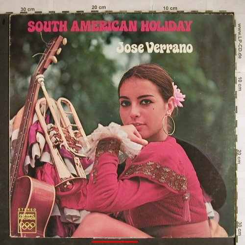 Verrano,Jose: South American Holiday, Olympic Records(1354), NL,vg+/vg+,  - LP - H8693 - 5,50 Euro