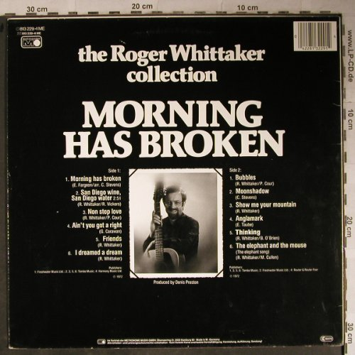 Whittaker,Roger: Collection 5, Morning has broken, Metronome(813 229-1 ME), D, Ri,  - LP - H8709 - 4,00 Euro