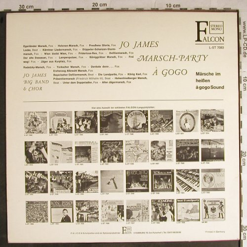 James,Jo - Bigband & Chor: Marsch Party à gogo, Falcon(L-ST 7083), D,  - LP - H8738 - 6,00 Euro
