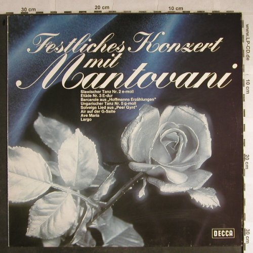 Mantovani: Festliches Konzert mit, Decca(6.21394 AS), D, 1985 - LP - H8758 - 5,50 Euro