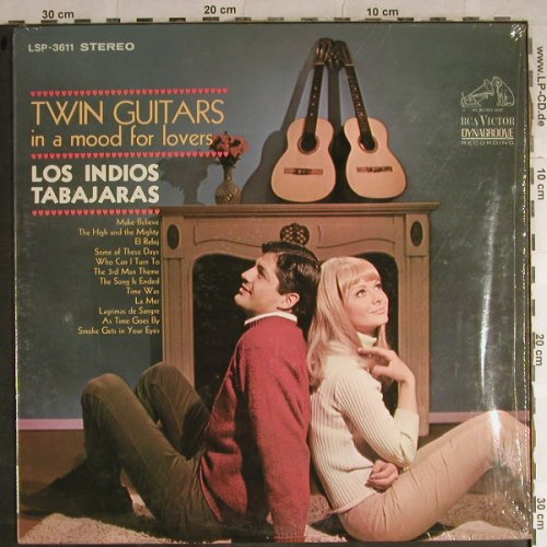 Los Indios Tabajaras: Twin Guitars in a mood for Lovers, RCA Victor(LSP-3811), US, 1966 - LP - H8778 - 7,50 Euro