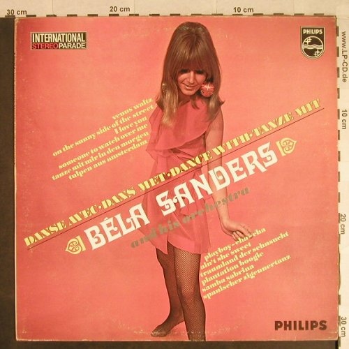 Sanders,Bela & Orch.: Dance with, Philips(870 010 BFY), NL,  - LP - H905 - 5,50 Euro