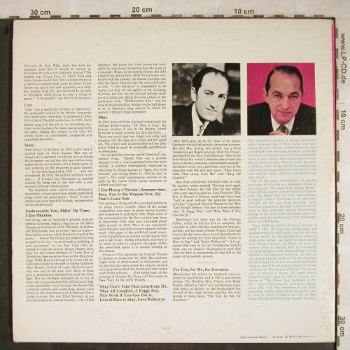 Faith,Percy, his Orchestra: The Columbia Album o.G.Gershwin, CSP(EN2 13719), US,m-/vg+,  - 2LP - H9190 - 7,50 Euro