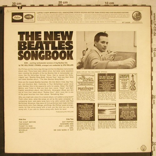 Hollyridge Strings: The New Beatles Songbook,Stu Phil., Capitol(ST 2429), US, 1965 - LP - H9477 - 10,00 Euro