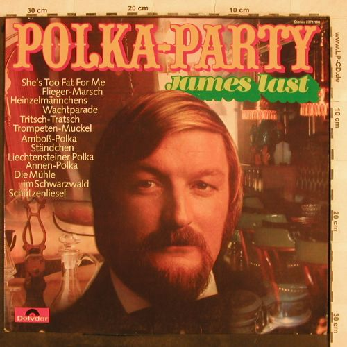 Last,James: Polka-Party, Polydor(2371 190), D, 1971 - LP - H9758 - 5,00 Euro