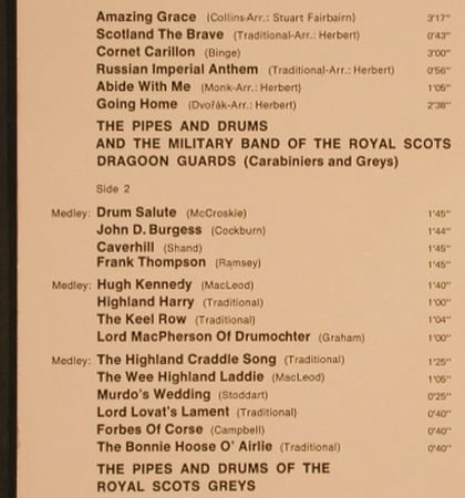 Royal Scots Dragon Guards: Amazing Grace, Ri, RCA International(26.21236 AF), D, 1972 - LP - H9773 - 4,00 Euro