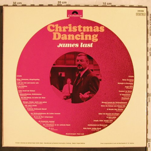 Last,James: Christmas Dancing, Polydor(249 088), D, 1966 - LP - H9976 - 3,00 Euro