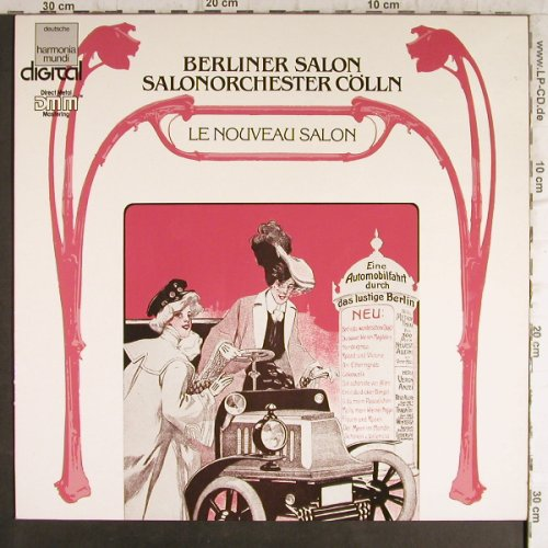Salonorchester Cölln: Berliner Salon-Le Nouveau Salon, EMI(16 9529 1), D, 1985 - LP - L172 - 7,50 Euro