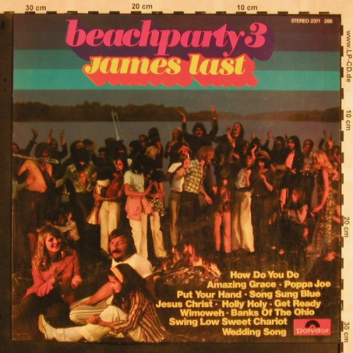Last,James: Beachparty 3, Polydor(2371 288), E, 1973 - LP - X1043 - 7,50 Euro